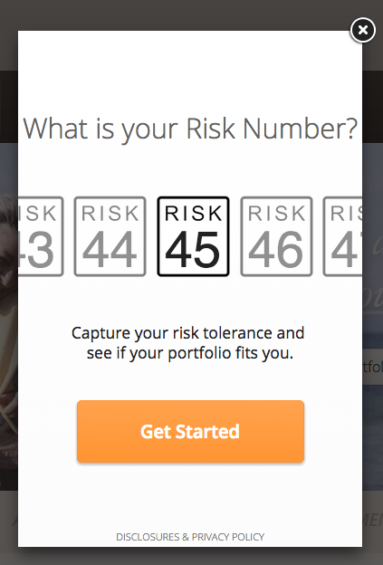 risk number get started